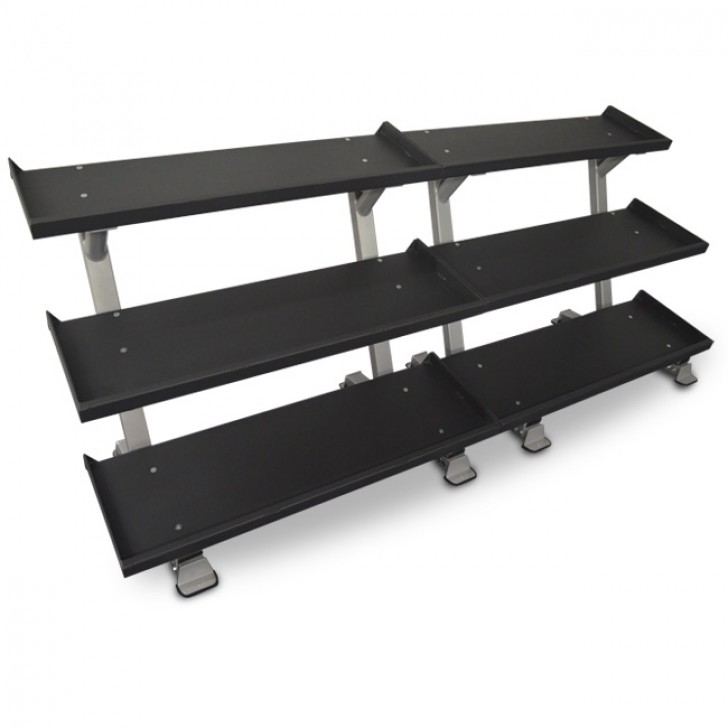 "Picture of 109"" 3-Tier Dumbbell Rack System"