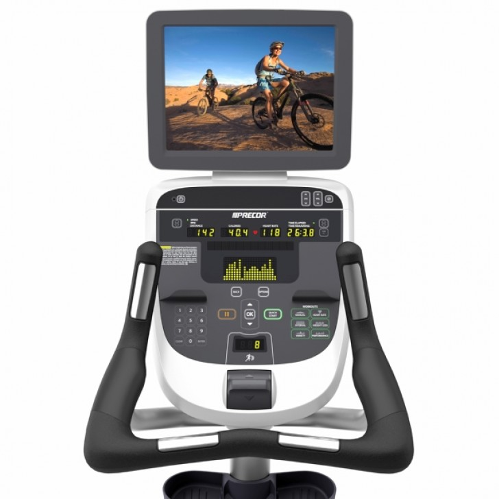 Picture of Precor UBK 835 Upright Exercise Bike