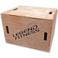 Wood Plyo Box 3-in-1 #3210-3N1
