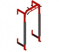 Fusion 5 Half Cage Module w/Multi-Grip Pull Up Bar