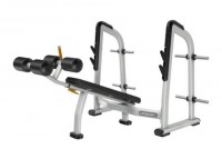 Precor Discovery Series Olympic Decline Bench