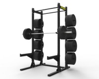 Gladiator Half Rack w/ Storage 2″x3″