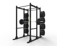 Gladiator Power Rack w/ Storage 2″x3″