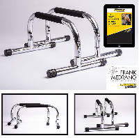 The Frank Medrano Signature Series Chrome Parallettes™