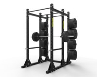 "Titan Power Rack w/ Storage 3"" x 3"""