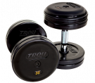 Picture of Pro Style Dumbbells - Rubber Encased - Straight