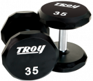 Picture of 12-Sided Custom Engraved Urethane Dumbbells